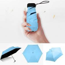 <b>Mini</b> Pocket <b>umbrella</b> sun protection Fashion <b>Folding Rain parasol</b> ...