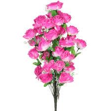 <b>Цветок искусственный декоративный</b> Роза FE058, 36 шт, 66 см в ...