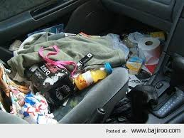 Collection of Messy Cars (10 Images) via Relatably.com