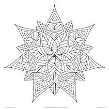 Small Picture Trend Geometric Design Coloring Pages 90 On Coloring Pages for