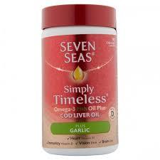 Seven Seas Clo Plus <b>Garlic Capsules</b> - <b>90's</b>   Connective Pharma Ltd