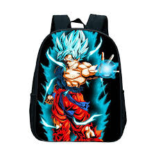 Рюкзак с принтом <b>Dragon Ball Z</b> Goku, детские школьные ранцы ...