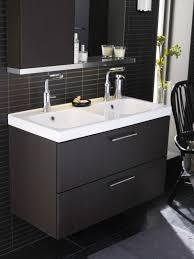 furniture astonishing bathroom sinks cabinets ikea using black paint finishes for furniture with double basin vanity bathroom basin furniture