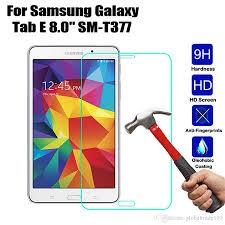<b>9H Tempered Glass</b> Technology 2 X Samsung Galaxy Tab E 8.0 ...