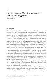 PDF  Critical Thinking Skills  Developing Effective Analysis and      cmedia ca