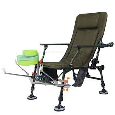 New <b>Fishing</b> Chair Platform <b>Fishing</b> Chair <b>Multi</b>-<b>functional Portable</b> ...