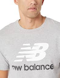 New Balance <b>Essentials Stacked Logo</b> T