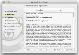 <b>Deep</b> Freeze <b>Mac</b> HFS+ User Guide