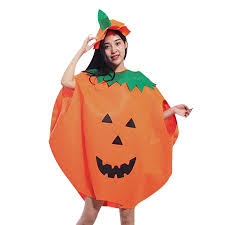 outdoorline Adult Kids Children <b>Pumpkin Halloween Costume</b> ...
