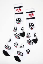 Носки <b>TRAINERSPOTTER Felix</b> Socks (White, O/S) | www.gt-a.ru