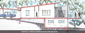downward sloping block   raised house   Google Search   Sloping    downward sloping block   raised house   Google Search   Sloping   Pinterest   Building  To Get and Search