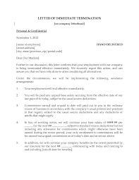 employment termination letter employment termination letter 101