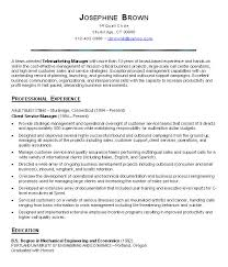 resume examples  customer service manager sample resume  customer        resume examples  customer service manager sample resume with professional experience as client service manager