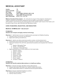 medical assistant objective resume examples job and resume gallery of 10 medical assistant objective resume examples