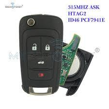 <b>Remtekey Flip</b> Car <b>Remote</b> Key 315mhz For Buick LaCrosse Regal ...