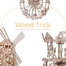 <b>Wood</b> Trick - <b>wooden</b> toy models for kids and adults | <b>3D puzzles</b>