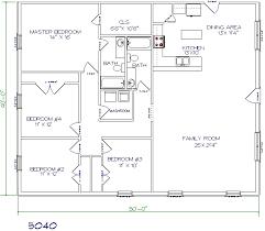 Top Metal Barndominium Floor Plans for Your Dream Home   HQ     bed  bath       x