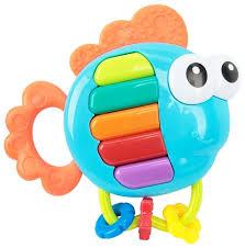 Купить <b>Прорезыватель</b>-<b>погремушка Happy Baby</b> Piano Fish ...