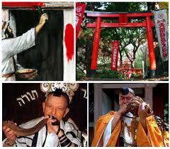 「赤い鳥居 ユダヤ」の画像検索結果