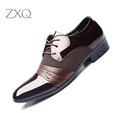 ZXQ <b>Men</b> Dress <b>Shoes Plus</b> Size 38-47 <b>Men</b> Business <b>Flat Shoes</b> ...
