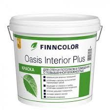 <b>Краска</b> в/<b>д</b> для стен и потолков <b>OASIS</b> INTERIOR база А <b>Finncolor</b> ...