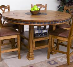 designs sedona table top base: sunny designs sedona adjustable height round table w lazy susan item number ro