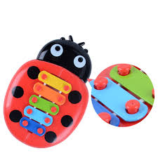 Musical Toys Percussion Kids Music Instrument Cute <b>Cartoon Inset</b> ...
