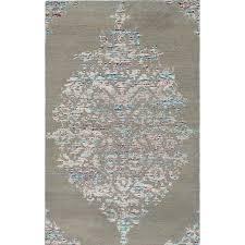 ECARPETGALLERY Hand-knotted La <b>Seda Light</b> Green Silk, Wool ...