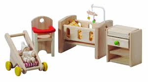 Amazon com  Plan Toy Doll House Nursery  Toys  amp  Games