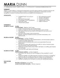 accounting auditor resume objective and sample eager world annamua
