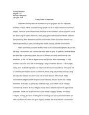 literacy narrative essay   shawn brodie english  my journey of   pages argumentative going green essay