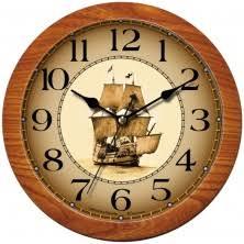 <b>Морские настенные часы</b> (в морском стиле), морская тематика