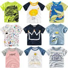 Loozykit <b>Summer Children Clothing</b> Sets Cartoon Toddler Boys Girls ...