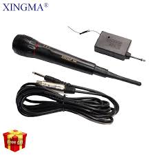 <b>XINGMA AK 308G Professional Dynamic</b> Microphone Wireless And ...