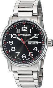 Наручные <b>часы Wenger 01.0341.104</b> — купить в интернет ...