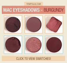 <b>MAC Eyeshadow</b> Swatches: <b>Burgundy</b>