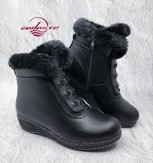 <b>CAILASTE Women</b> Shoes37 42 <b>Winter</b> Ankle <b>Boots</b> Warm Fur Plush ...