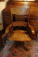 antique oak desk chair ebay antique oak office chair