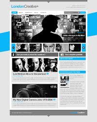 london creative portfolio blog template by freshface london creative portfolio blog template