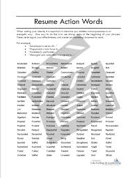 resume example action verbs for resumes list sample action resume example action verbs list words for resumes action words and keywords qr action verbs