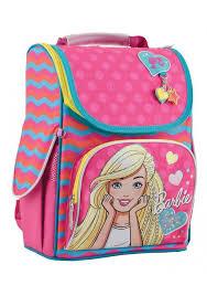 Каркасный школьный рюкзак для девочки H-11 <b>Barbie rose</b> ...