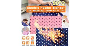 <b>Heated Shawl</b> Electric <b>Warming Heating Blanket Pad</b> Home Office ...