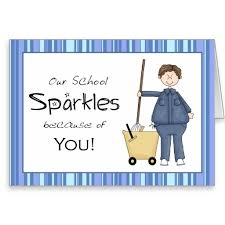 School Custodian Thank You Card | Zazzle via Relatably.com