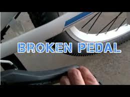 <b>SMLRO</b> eBike broken pedal!