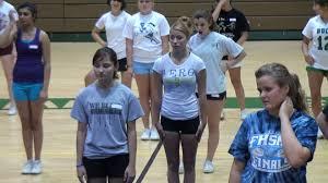 cheerleading tryouts