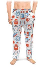 """Мужские пижамы c дизайнерскими принтами """"<b>фитнес</b>"""" - <b>Printio</b>"""