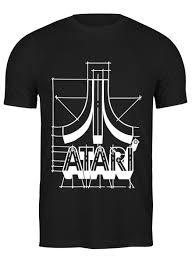 Футболка классическая Логотип АТАРИ - ATARI logo #700933 от ...