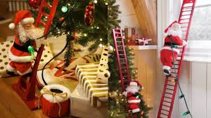 <b>Electric Climbing Santa Ladder</b> Review - <b>Christmas</b> Decorations