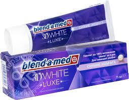 Купить <b>Зубная паста Blend</b>-a-<b>med</b> 3D White Luxe Сияние жемчуга ...