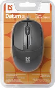 <b>Проводная мышь Defender Datum</b> MS-980 черный,3 кнопки ...